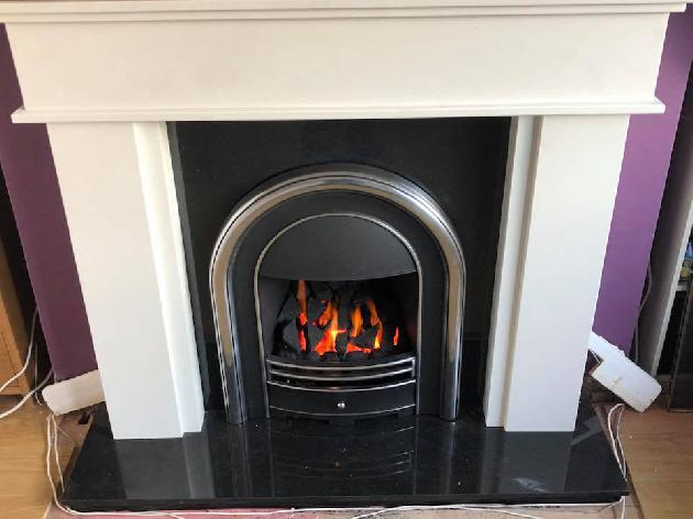 Gas fire installation | Guisborough